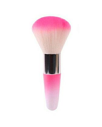 Luxury Nail Dust Brush - Pink