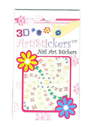 3D Nail Art Stickers - Bows