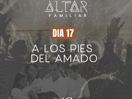 DÍA 17. A LOS PIES DEL AMADO