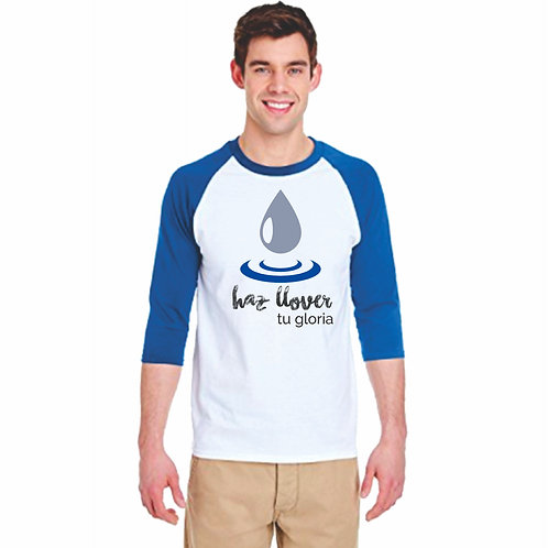 "Camiseta Oficial ""HAZ LLOVER TU GLORIA"" - Edición Limitada"
