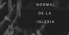 NUEVO NORMAL DE LA IGLESIA