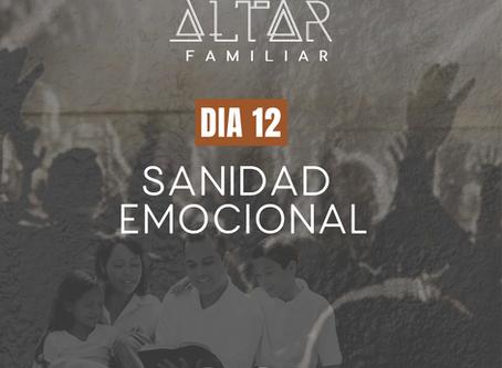 DÍA 12. SANIDAD EMOCIONAL