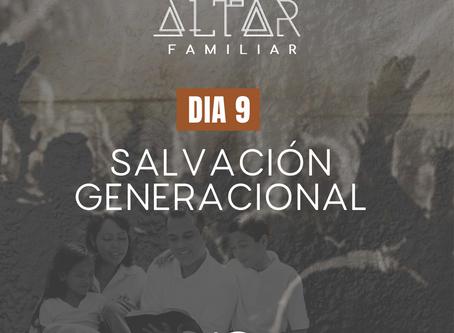 DÍA 9. SALVACIÓN GENERACIONAL