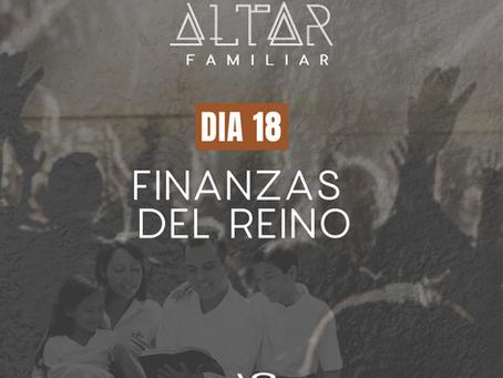 DÍA 18. FINANZAS DEL REINO