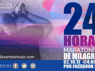24 HORAS de Maratónica de Milagros por Facebook Live