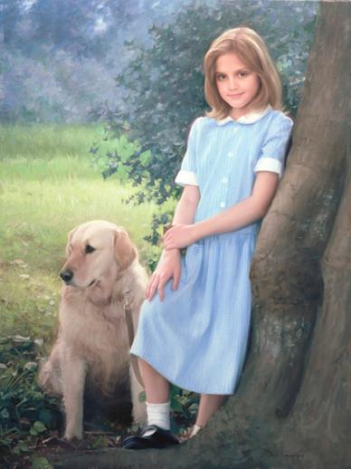 Portrait of Maggie