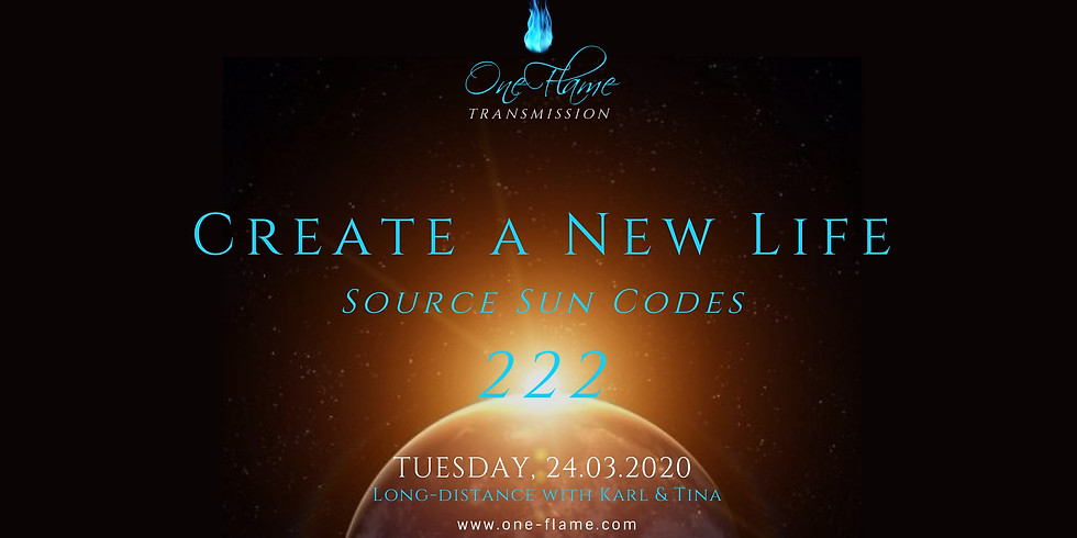 Transmission - Create a New Life - Source Sun Codes