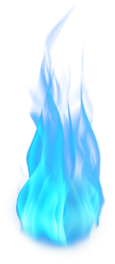 one flame - aquamarine ray