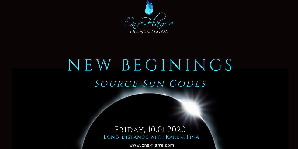 New Beginings - Source Sun Codes Transmission (ENG/SI/HR)