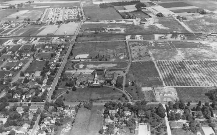 SSC Campus, 1940s