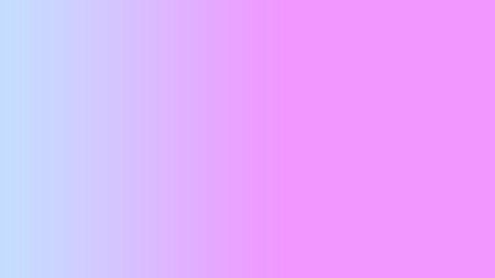 Degradado del color azul al lila.