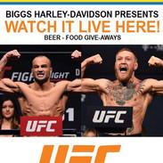 UFC 205 Live at Biggs Harley-Davidson