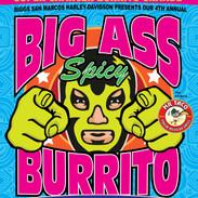 Burrito eating contest at Harley-Davidson