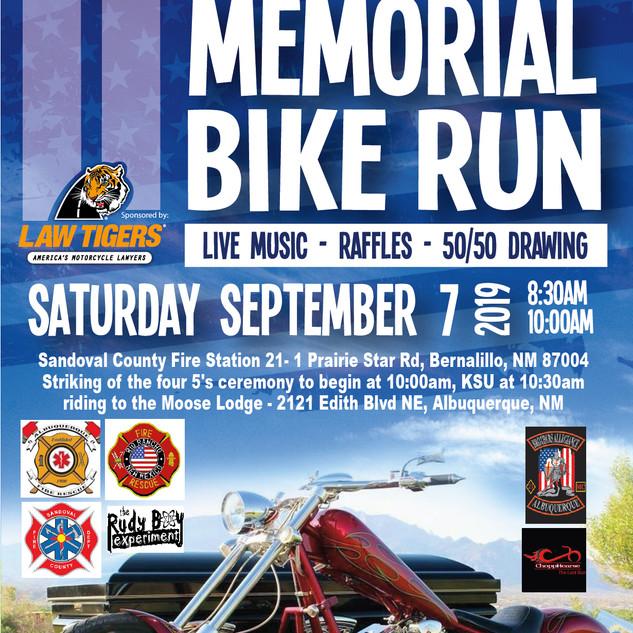 9/11 Memorial Bike Run