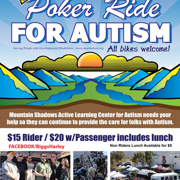 Poker Ride for Autism