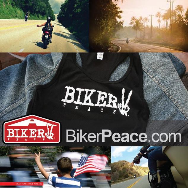 Biker Peace Clothing