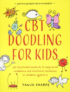 CBT Doodling for Kids by Tanja Sharpe