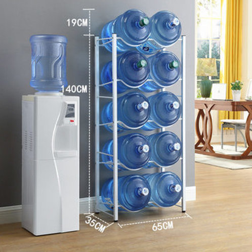 10-Tier Bottle Storage Rack