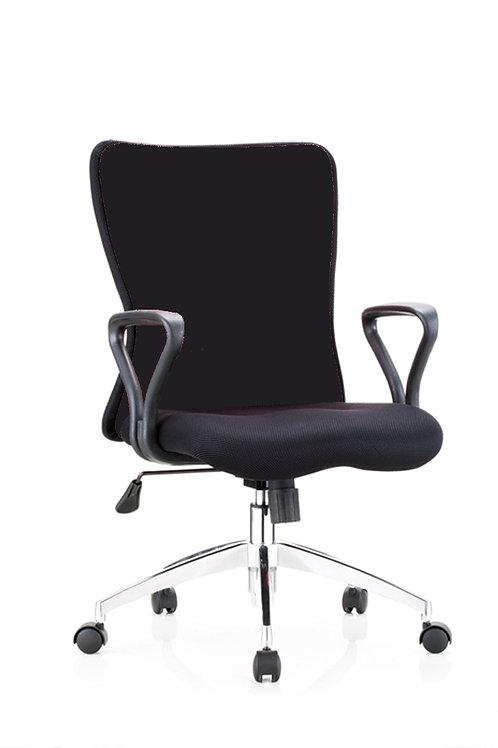Sara B Black Office Chair