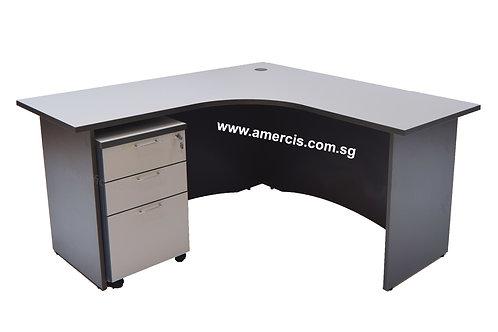 1500L Fera Staff Table [Grey]