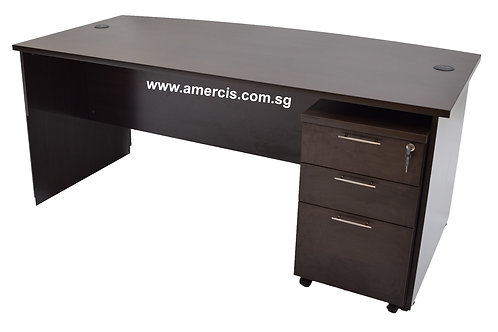1800L Encor Staff Table [Walnut]