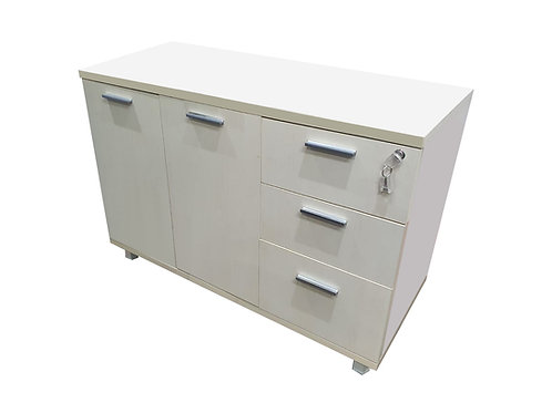 White Maple Wooden Cabinet