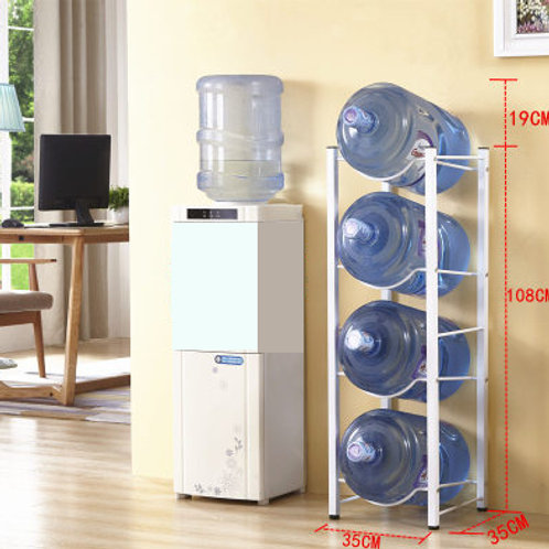 4-Tier Bottle Storage Rack