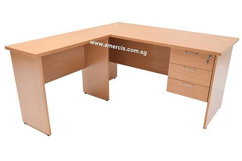 1500L Gelit Staff Table [Beech]