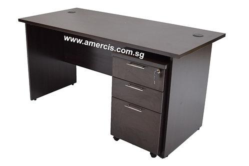 1500L Encor Staff Table [Walnut]