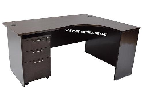 1600L Fera Staff Table [Walnut]