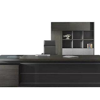 Minz Director Desk Set - Mocha