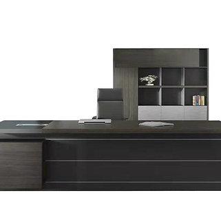 Minz 1800L Director Desk Set - Mocha