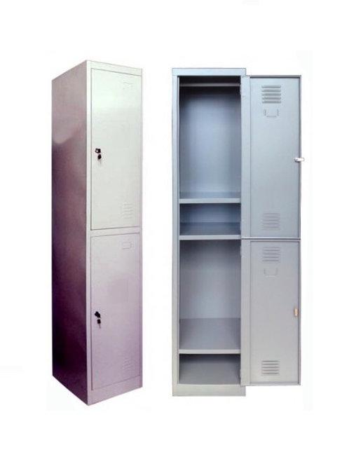 2-Door Steel Locker