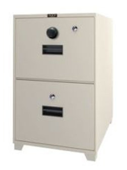 2-Drawer Fire Resistant Filing Safe
