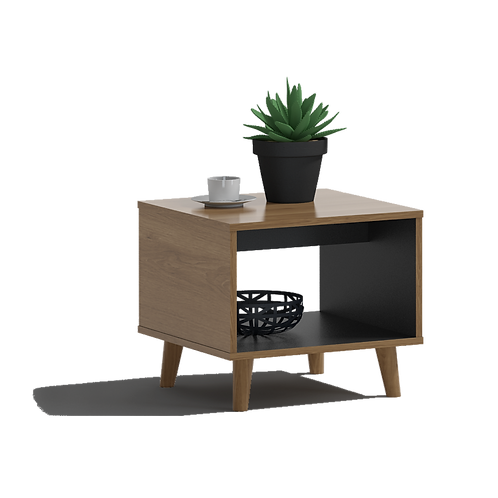 Yosemite Square Coffee Table with Cabinet