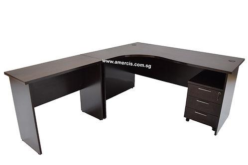 1800L Cadisse Staff Table [Walnut]