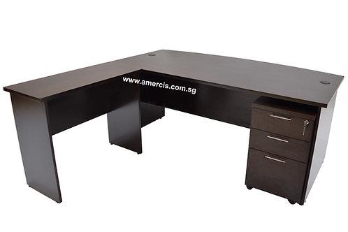 1800L Anchor Staff Table [Walnut]