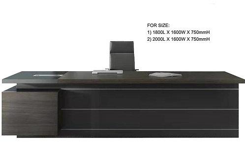 Minz Desk - Walnut