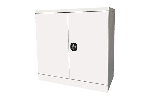 Snow Steel Swing Door Half Height Cabinet