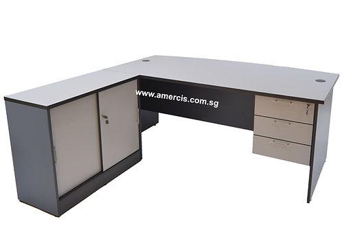 1800L Gelit Staff Table [Grey]