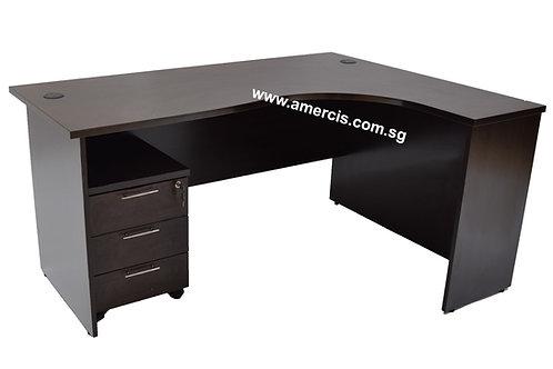 1600L Renco Staff Table [Walnut]