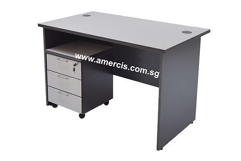1200L Grancer Staff Table [Grey]