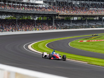 Practice Report: Carb Day at Indy