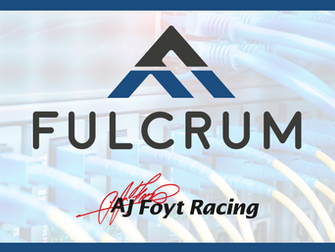 Fulcrum Technology Solutions Joins AJ Foyt Racing for INDYCAR Doubleheader