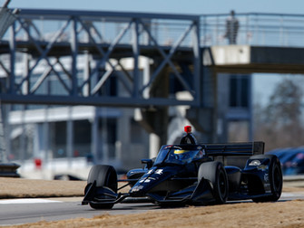AJ Foyt Racing Continues To Make Progress with Another Solid Test at Barber Motorsport Park