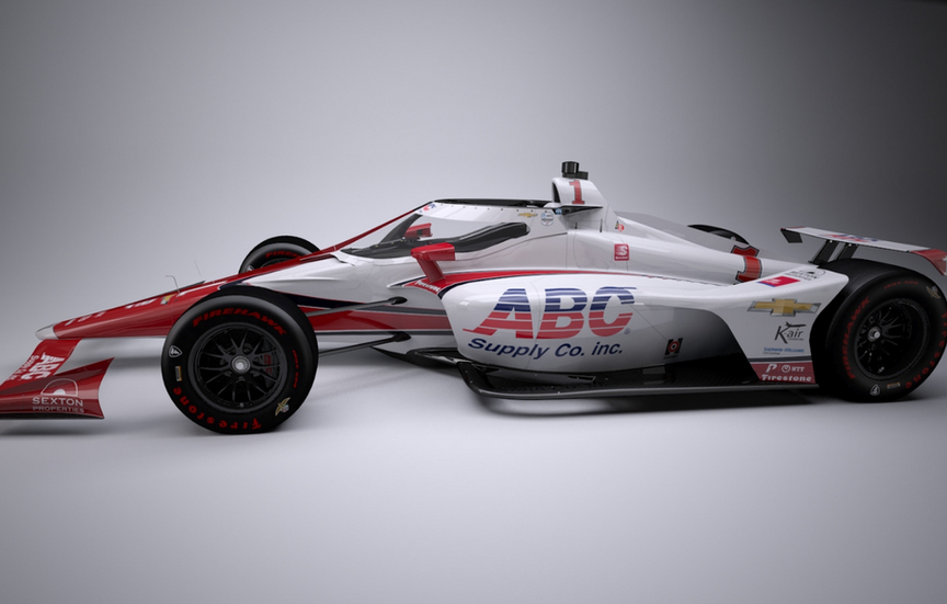 ABC Supply to sponsor 60th Anniversary Foyt Tribute Car in Indy 500; J.R. Hildebrand set to drive