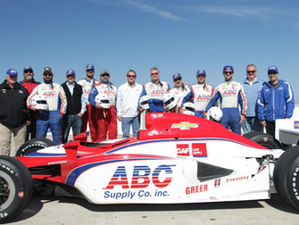 AJ Foyt Racing Hosts ABC Supply and L&W Supply Days at the Track