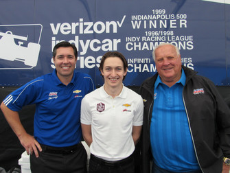 Indy Women in Tech Championship presented by Guggenheim to sponsor Zach Veach's Indianapolis 500