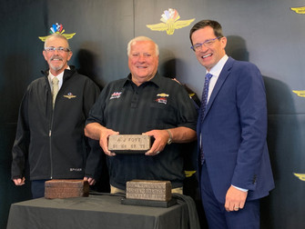A.J. Foyt's Success in the Indianapolis 500 Is Celebrated in Bronze