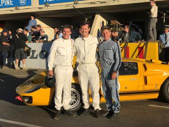 2nd Gen Drivers Gurney & Bucknum talk about working on Ford V Ferrari